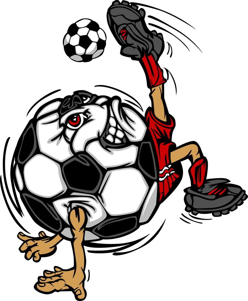 サッカーボールキック